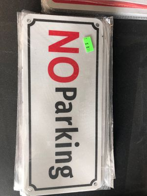 Small no parking sign for Sale in Olympia, WA