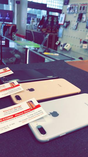 Apple iPhone 8 Plus 256Gb / 128Gb / 64Gb - Unlocked / AT AND T T-Mobile Verizon Sprint Starting @ for Sale in Arlington, TX