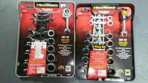 Gearwrench Stubby short small Wrench set of 16 Metric and standard SAE for Sale in Boston, MA