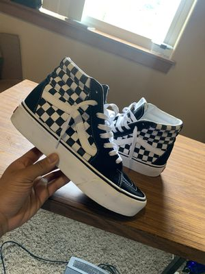 "Men Vans SK8-Hi size 8.5 ""Checkerboard"" for Sale in Burien, WA"