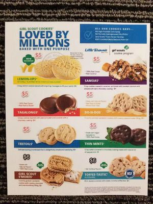 🍪 Girl Scout Cookies 🍪 for Sale in El Monte, CA