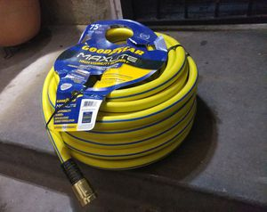 BRAND NEW Goodyear 3/4 in. Dia x 75 ft. Goodyear MAXLite High Visibility Premium Rubber Hose for Sale in Fresno, CA