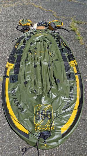 Inflatable Raft Boat - Sevylor HF360 Fish Hunter for Sale in East Windsor, CT