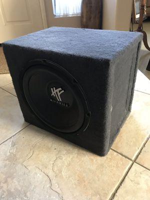Hifonics 12' 1600 Watt Subwoofer w/ Box for Sale in Riverside, CA