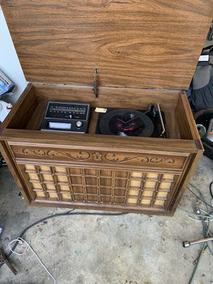 Vintage stereo fm/am eight track player system for Sale in Austin, TX