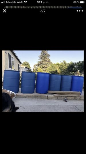 Barrels 55 gal for Sale in Los Angeles, CA