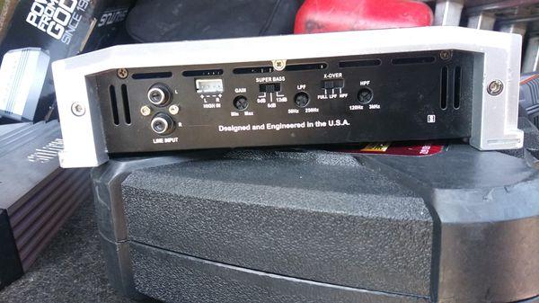 AutoTek 1200 Watts 2 Channel Amplifier