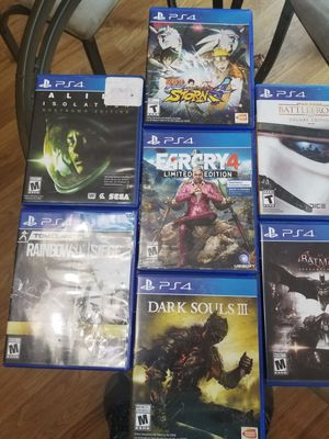 PS4 Video Game Lot for Sale in Lewis Center, OH