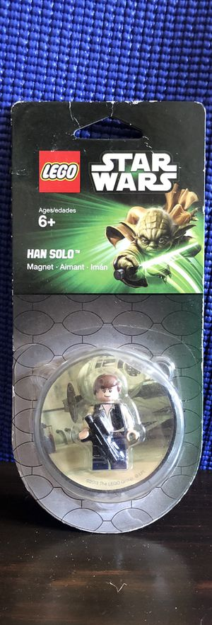 Star Wars - Hans Solo - LEGO - Magnet for Sale in Burbank, CA