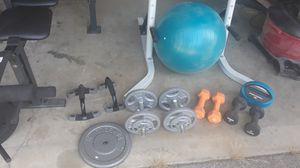 Gym equipment. Full set for Sale in Graham, WA