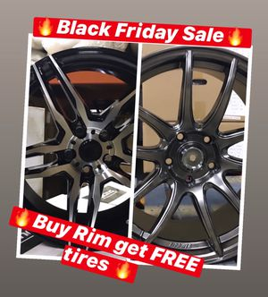 🔥🔥🔥Black Friday SALES! BUY Rims get FREE Tires🔥🔥🔥(only 50 down payment / no credit needed ) for Sale in Union City, NJ