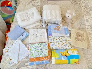 Baby Crib Bedding Bed sheets & blankets for Sale for sale  Brooklyn, NY