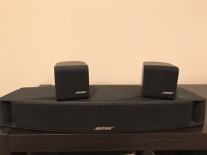 Bose VCS10 center speaker and 2 satellite speakers for Sale in Mount Prospect, IL