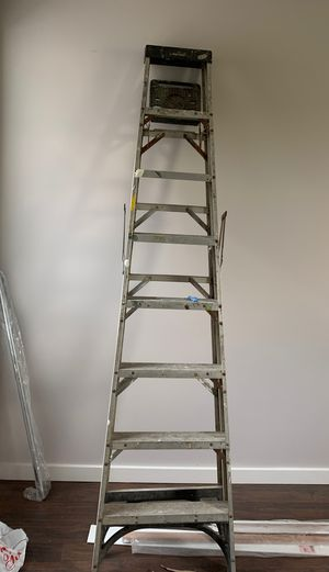 8ft ladder aluminium for Sale in Newark, NJ