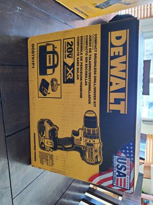 Dewalt 20v Brushless drill and driver kit for Sale in Westminster, CO