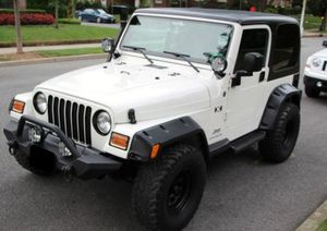 Selling 2004 Jeep Wrangler 4WDWheels Nice for Sale in Buffalo, NY