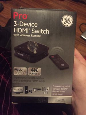 HDMI 3-device switch for Sale in Phoenix, AZ