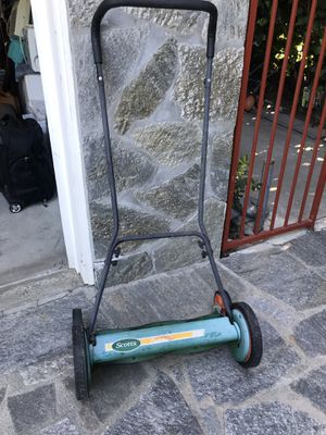 """20"""" wide Scott's Push Lawn Mower for Sale in Upland, CA"""