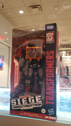 TRANSFORMERS (SOUNDBLASTER) FIGURE (WAR FOR CYBERTRON TRILOGY) for Sale in Los Angeles, CA