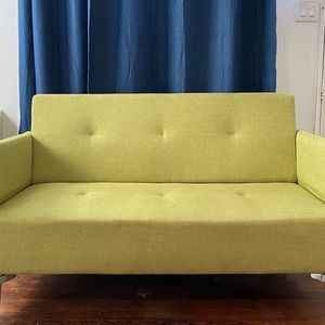 Mid Century Lime Green Vintage Inspired Loveseat for Sale in Los Angeles, CA
