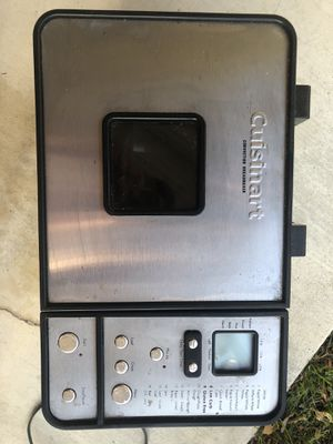 Cuisinart bread maker for Sale in Agoura Hills, CA