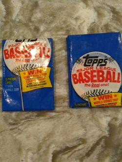 1983 Topps Baseball Card Pack Factory Miswrap for Sale in Portland,  OR