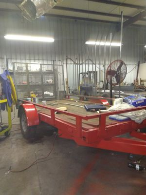 6 by 10 with removable 3-inch channel sides as well as drop gate for Sale in Easley, SC