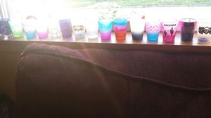 18 Shot glasses ! Perfectly fine . $25 for all ! for Sale in Granite City, IL