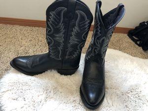 Laredo size 10.5 men's cowboy boots for Sale in Wenatchee, WA