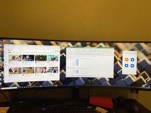 """Samsung Cj89 43"""" curved ultra wide monitor for Sale in Bellflower, CA"""