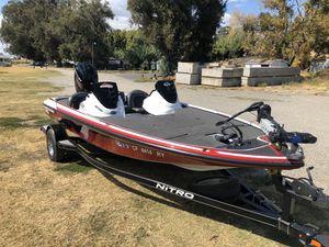 2016 Nitro z18 Bass Boat 150 Mercury four stroke for Sale in Lathrop, CA