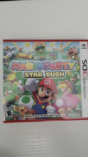 Mario Party Star Rush NEW for Sale in Hialeah, FL