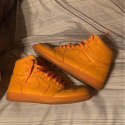 "Nike air Jordan One High's ""Orange Peel"" Size 11 for Sale in Oklahoma City,  OK"