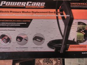 Powercare electric pressure washer replacement gun and hose for Sale in Louisville, KY