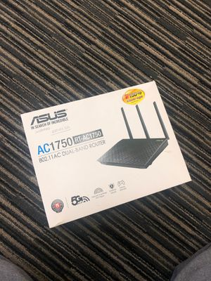 Asus dual band router for Sale in Palo Alto, CA