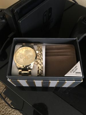 Brand New Watch/Bracelet/Wallet Men for Sale in Corona, CA