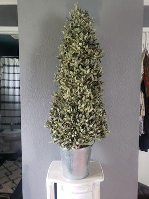 Faux plant topiary galvanized pot home decor kirklands for Sale in Dixon, CA