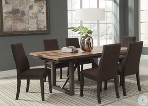 Information: Contemporary with a thick top this dining table can seat your family or friends and adds style to your home. The table top shows off w for Sale in Naples, FL