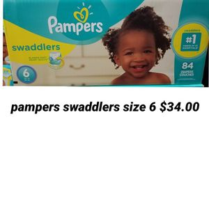 Pampers Swaddlers Size 6 for Sale in Los Angeles, CA