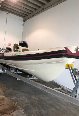 Inflatable rigid 23 zodiac for Sale in North Miami, FL