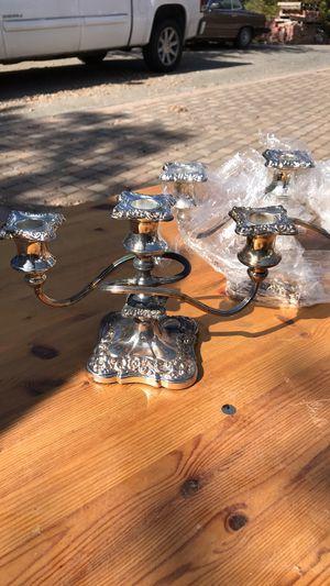 Antique candle holder set-candelabra for Sale in San Jose, CA