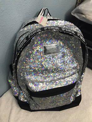 Victoria's Secret pink bling backpack for Sale in Orlando, FL