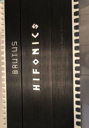 Brutus Elite HIFoNICS. BRE2500.10 2500 Watts Super D-class for Sale in Union City, NJ