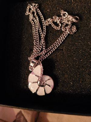 New Silver Plated and Moonstone Necklace for Sale in Memphis, TN