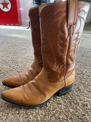 Tony Lama Men's Cowboy Boots 9D for Sale in Clovis, CA