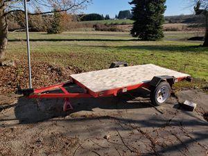 4x8 Utility Trailer Tilt bed for Sale in Hillsboro, OR