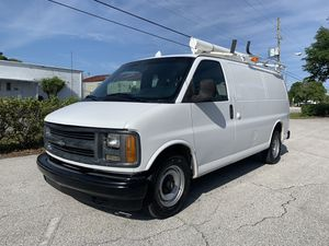 2000 Chevy express g2500 cargo van fully equipped 79,000 miles for Sale in St.Petersburg, FL