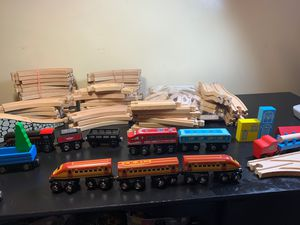 Wooden Train set for Sale in Worcester, MA