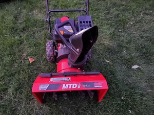 """Snow blower mtd """"22 inch for Sale in HOFFMAN EST, IL"""