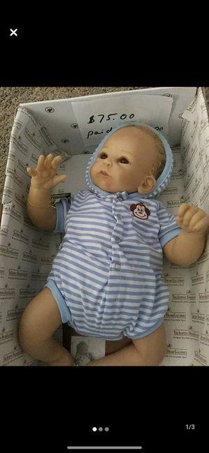 Ashton drake Benjamin doll for Sale in Monico, WI